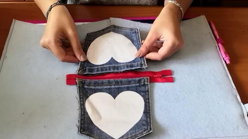 Riciclare un Jeans? Fallo con me! Recycle a Jeans!
