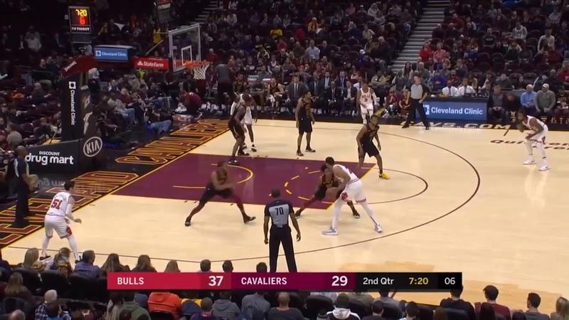 Кливленд Кавальерс - Чикаго Буллз Обзор матча НБА 21012019
