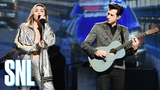 Mark Ronson and Miley Cyrus Nothing Breaks Like a Heart (Live) - SNL