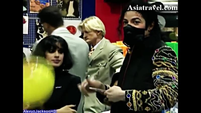 Michael Jackson - Shopping in Thailand 1996 HD