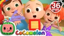 The Shapes Song More Nursery Rhymes Kids Songs - CoCoMelon