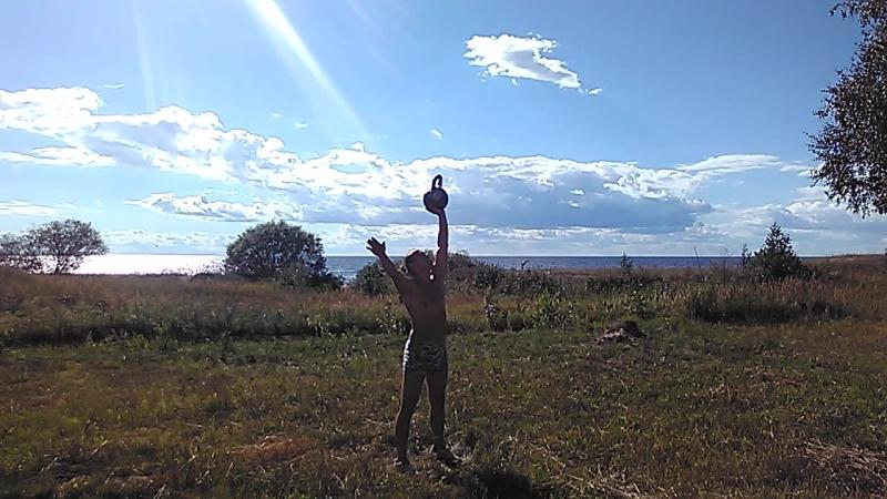 Силовое жонглирование гирями Отработка бросков по схеме 1 2 3