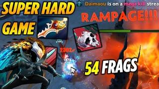 PA 54 FRAGS RAMPAGE - Super Hard Game Dota 2