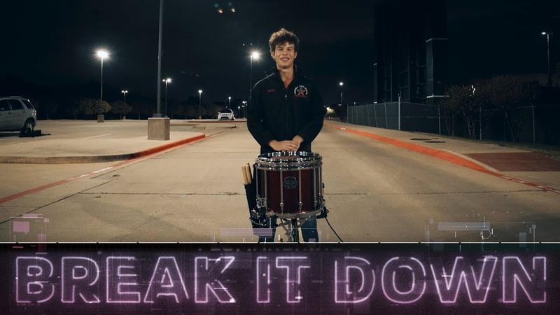 Break It Down Coppell 2018 Snare Break