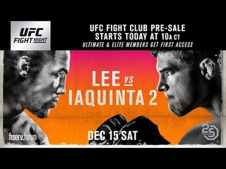 UFC on FOX 31: Кевин Ли - Эл Яквинта 2 ОБЗОР ПРЯМАЯ ТРАНСЛЯЦИЯ ОНЛАЙН