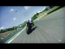 2018 Italian GP - Yamaha in action
