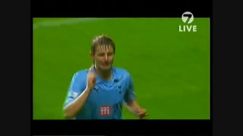 Роман Павлюченко дебютный гол за Тоттенхэм
