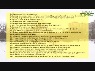 В Самаре подвели итоги общественного голосования за благоустройство территорий