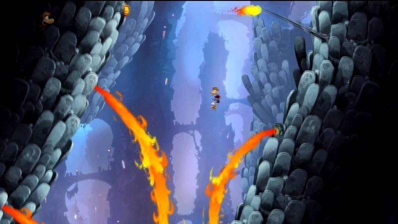 Rayman Origins - Land of the Livid Dead - Solo