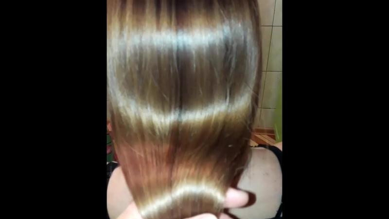 однофазный кератин после окраса волос