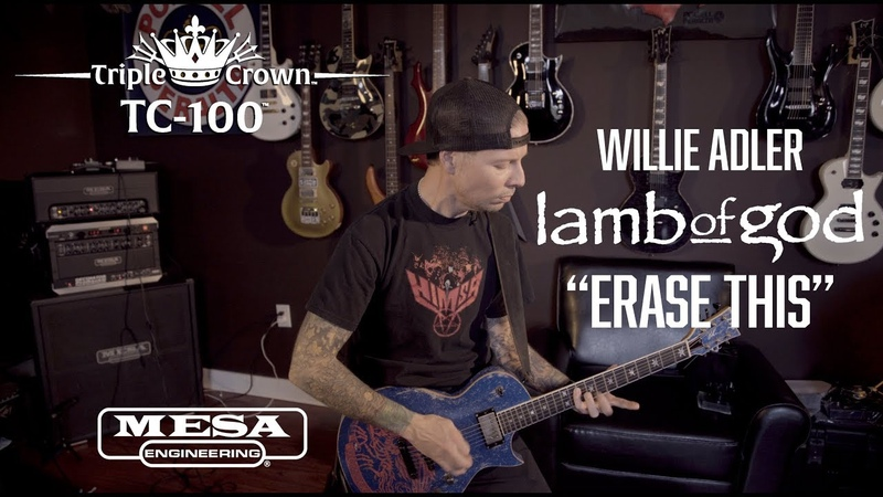 """Tone Sessions Willie Adler – Triple Crown™ TC-100™ – """"Erase This"""" Playthrough"""