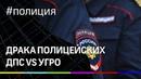 Драка полицейских: ДПС vs. УГРО