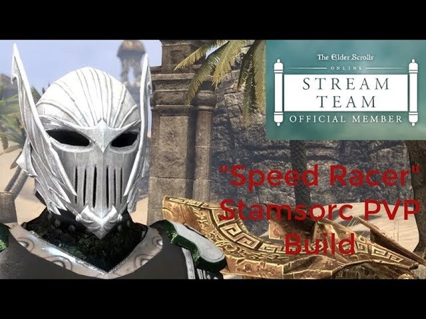 Speed Racer Stamsorc PVP Build Wolfhunter Patch