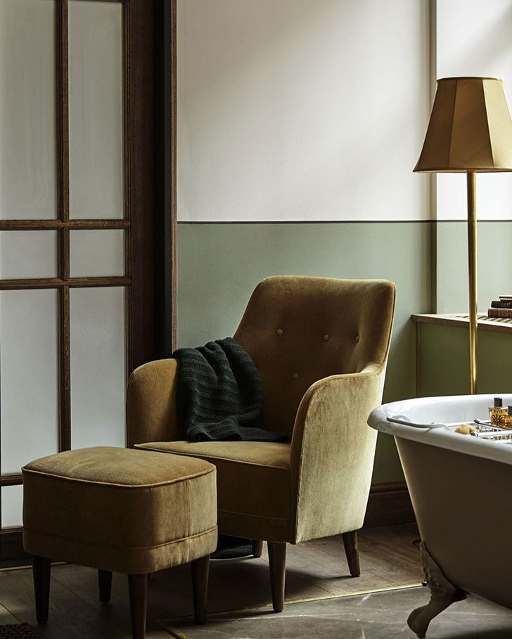 Отель Sanders с благородными интерьерами в Копенгагене