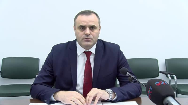 LIVE Брифинг Вадима Чебан о проекте изменения бюдджета Гагаузии на 2018 год