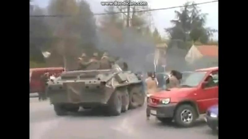 Македония 2001 год Правительственные силы в боях против албанских боевиков в Тетово
