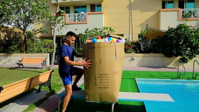 WWE MOVES IN MASSIVE BALL PITS POOL · coub коуб