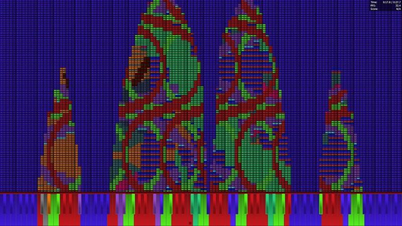 [Black MIDI] Undertale - Dogsong 7.33 Million | Legit Run
