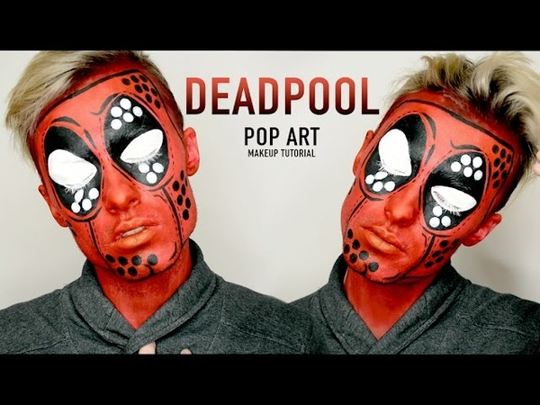 DEADPOOL POP ART | Makeup Tutorial