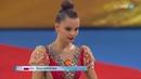 Дина Аверина лента личное многоборье — Чемпионат Мира 2018 / Болгария, София