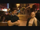 INTERVIEW - Beau Mirchoff and Kelli Berglund on their new show 'Now Apocalypse' outside the Teen Vogue Young Hollywood Party at