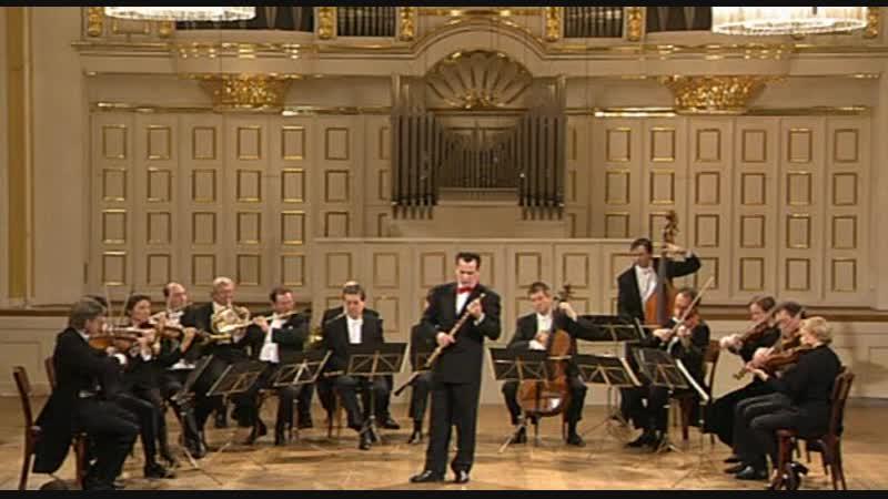 Моцарт - Концерт для флейты G-dur KV313 / Mozart - Flute Concerto KV313 (Emmanuel Pahud)