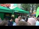 Anton Hofreiter nennt Journalisten Nazi- Leopold Corso in München- Die Grünen