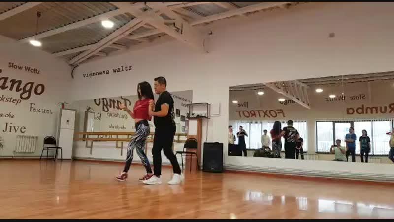 МК Новороссийск кизомба Джеф Гюльнара