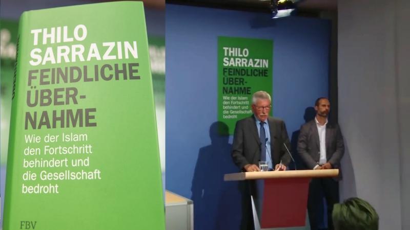 Sarrazins Buchvorstellung:Feindliche Übername-seine Analyse ist Brilliant und Zutreffend !