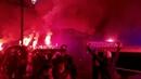 El espectacular ambiente del derbi asturiano: Real Oviedo-Sporting de Gijón (2-1)