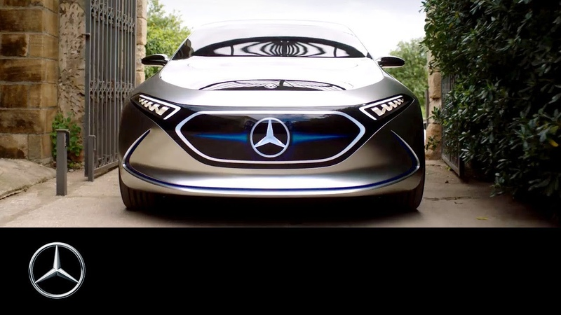 Mercedes Benz Concept EQA Marcin Öz Time to do something new