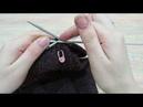 (1) Закрываем макушку шапки из 4 клиньев - YouTube