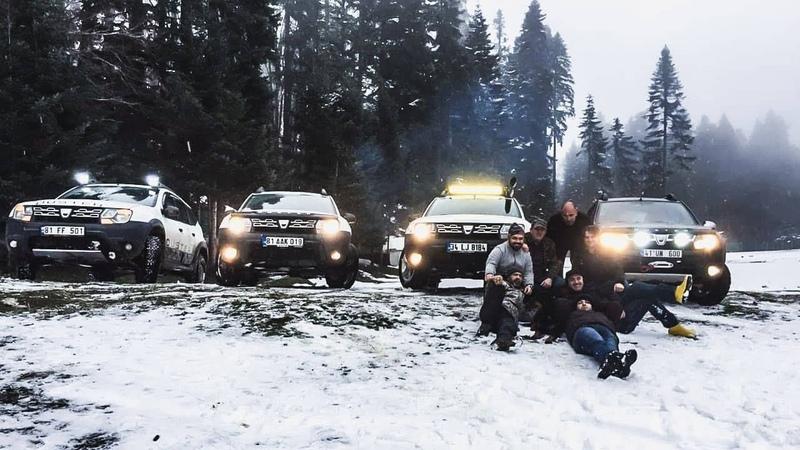 Buz Gibi Havada İnanılmaz Kamp | Kar Macerası Duster 4x4