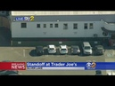 Shooting Suspect Barricaded Inside Trader Joe's Possibly With Hostages