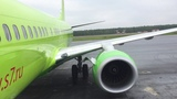 Перелет Нижневартовск-НовосибирскFlight report Nizhnevartovsk-Novosibirsk S7 Airlines B737-800