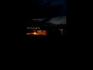 Тихий вечер в Запорожье
