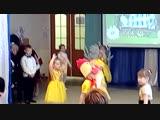 Танец цыплят и петуха, с юбилеем детский сад!