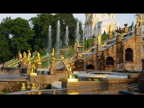 Чудеса нашей планеты: потрясающей красоты фонтаны Петергофа!