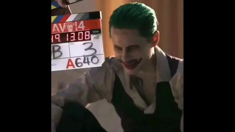 Съёмки Joker and Harley Quinn