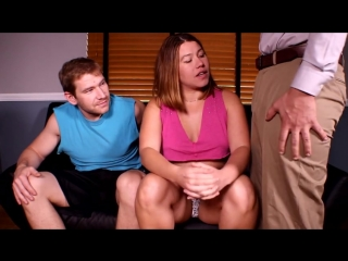 Wife and bull humiliate the cuckold