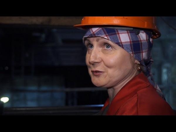 В преддверии Дня металлургов рассказываем о трудовом пути машиниста крана Ирины Рюмшиной