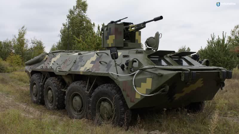БТР 70Д GM от Житомирского бронетанкового завода
