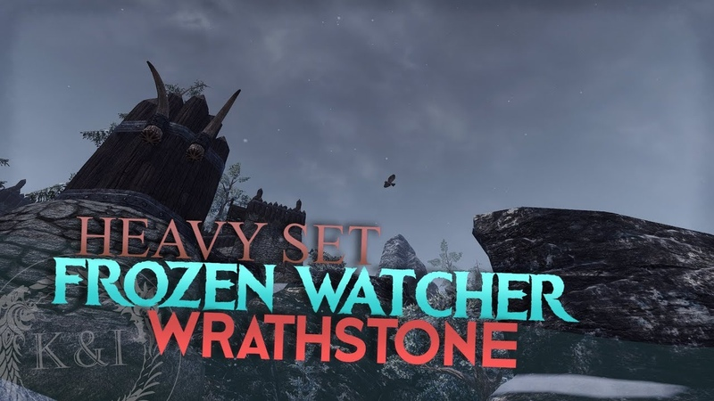 ESO Frozen Watcher Heavy Set | Wrathstone