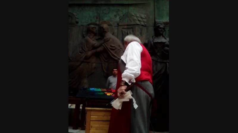 Мастер-класс Зураба Церетели 22.11.2018г.