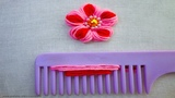 easy Sewing Hack with hair comb Hand Embroidery amazing Tricks #19super easy flower embroidery