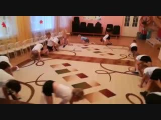 АкробатикаДетский сад 458 - 2 группаТренер Шихваргер Даниил Артурович