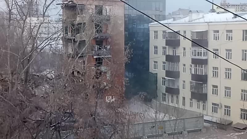 Снос дома на Чапаева