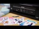 Epson XP 342 печатаетнаклейки