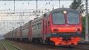 Электропоезд ЭД4М 0347 с рейсом Москва Курская Электрогорск