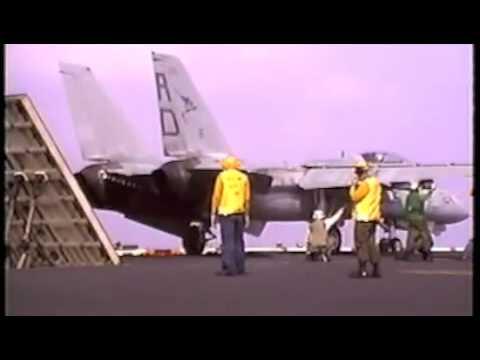 Aircraft Carrier USS Coral Sea Flight Deck 88 89 3